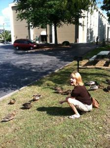 BG ducks