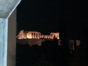 Greece Night View