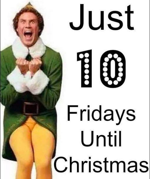 christmas 10 hanukkah - How Many Mondays Until Christmas